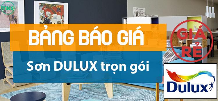 Giá sơn Dulux trọn gói